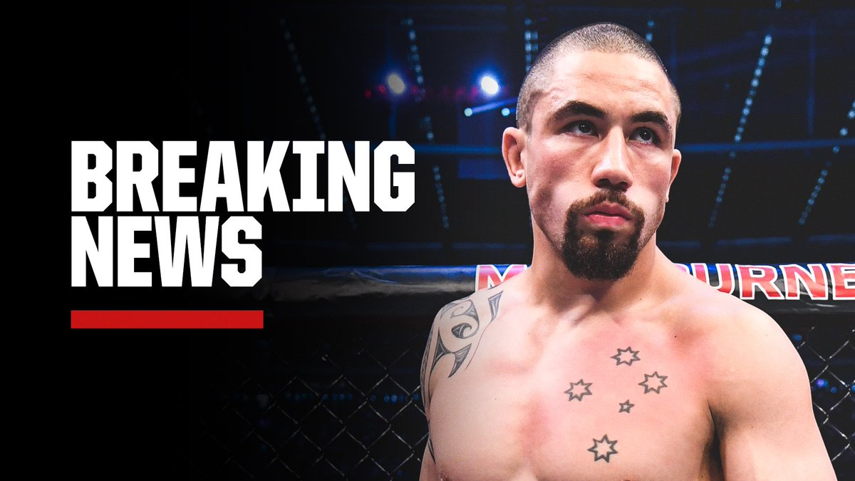Robert Whittaker is out of his UFC 248 fight against Jared Cannonier due to undisclosed personal reasons, sources tell ESPN. (via @arielhelwani)