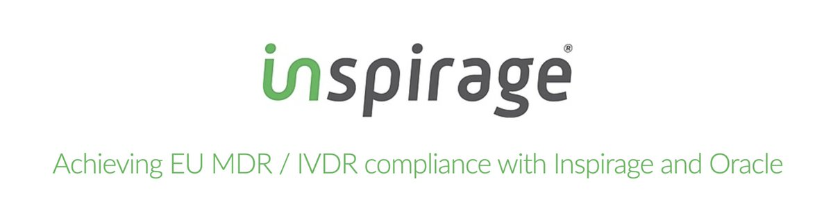 Join us tomorrow to learn how organizations can achieve European Union Medical Device Regulation (EU MDR) and In Vitro Diagnostic Regulation (IVDR) compliance before the deadline to comply - May 26, 2020 - comes around! https://t.co/JtMk0sStzW https://t.co/kOv6sBH1KX