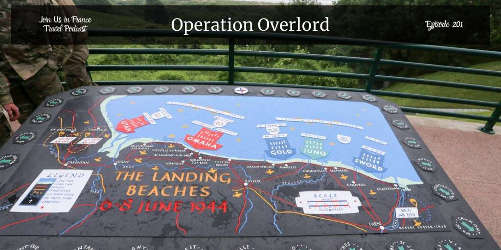 Going to visit Normandy? This episode is an overview of Operation Overlord and the Battle of Normandy from the point of view of amateur historians who love to visit the area #joinusinfrance #operationoverlord  https://joinusinfrance.com/201pic.twitter.com/DnubwRZqTv