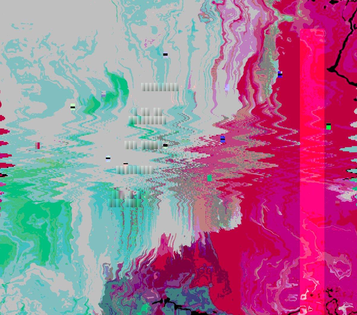 ⭐💠 glitchart glitch mandelbrot fractalart artsy abstractart creative bot Origin img by @Kisalamusic