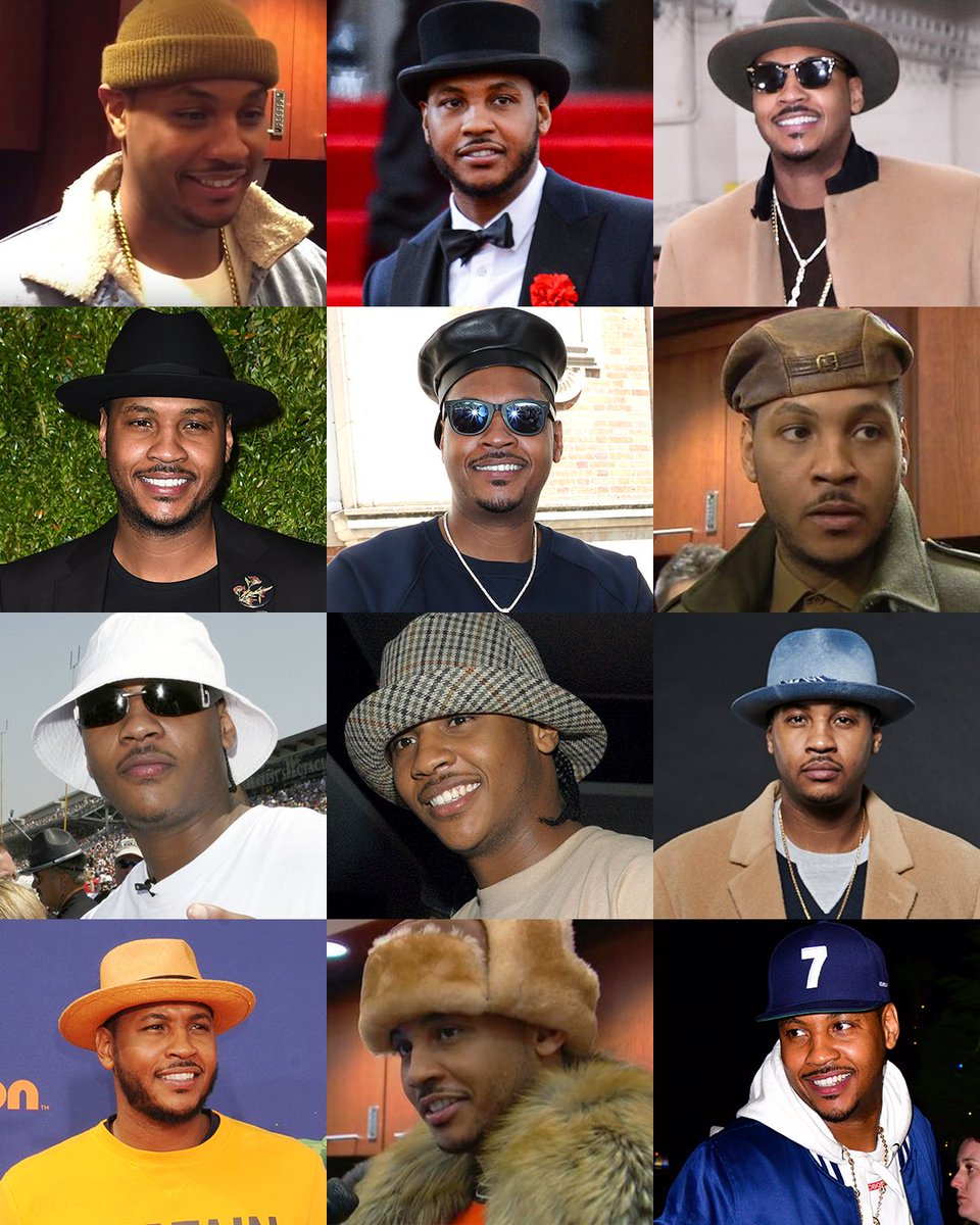 #NationalHatDay 🐐 You are appreciated, Melo.