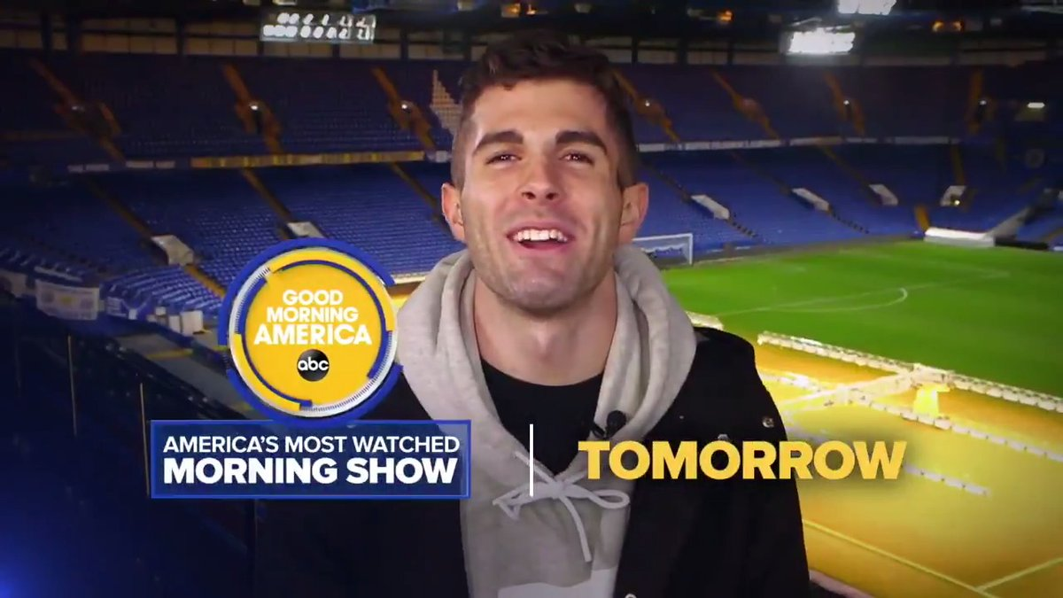 TOMORROW: Were kicking it with @cpulisic_10 for an EXCLUSIVE interview with one of the fastest-rising soccer stars on the field!