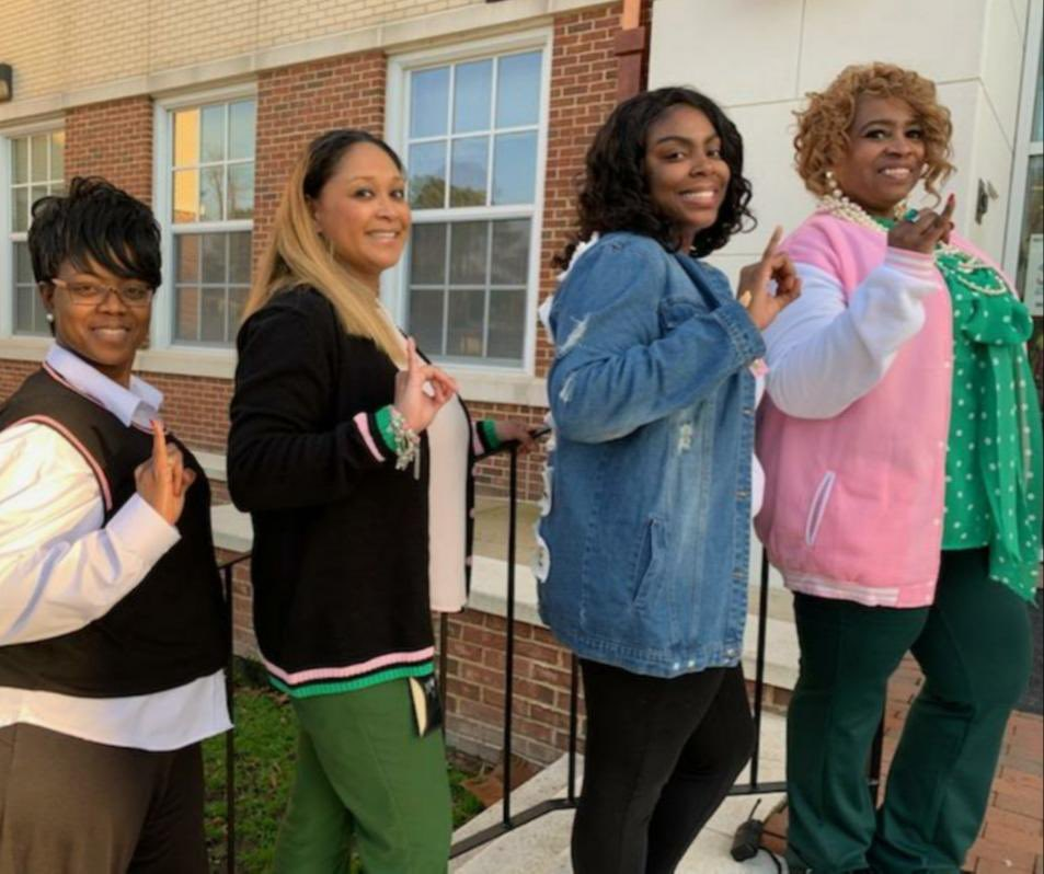 I enjoyed our (Alpha Kappa Alpha Sorority, Inc.) 112th Founders' Day at work today!!! So proud of my lovely sisters. 💚💕Thank you to our D9 sisters for celebrating with us!