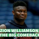Image for the Tweet beginning: When will Zion #Williamson make