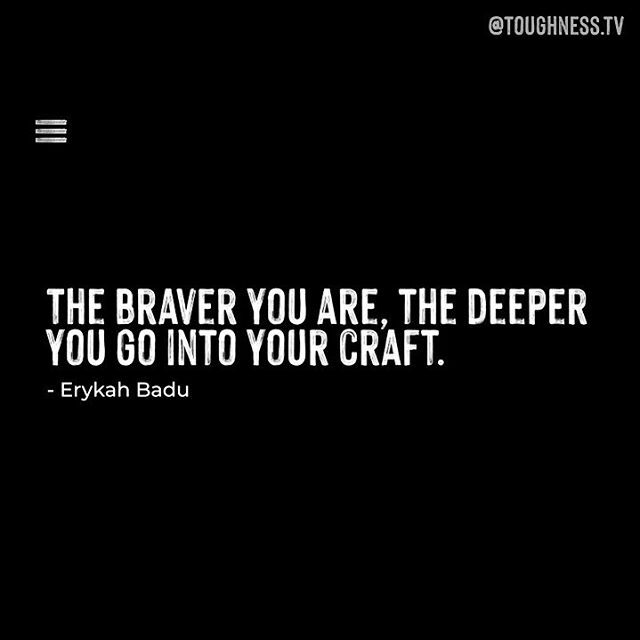 Want to know how @erykahbadu embraces toughness? 💎 Stay tuned in our feed for the full video 🎥 . . . . . . . . #toughness #motivation #businesscoachforwomen #entrepreneurmind #couragequotes #inspirationalwords #dailyinstainspo #quotestoinspire #quotesaboutlife  #erykahbadu #…