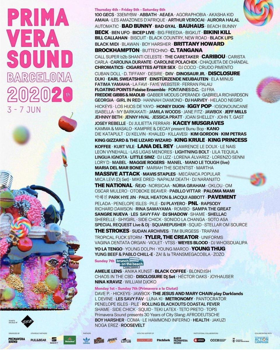 ESPAÑA 😍 estoy listaaaa @Primavera_Sound // entradas a la venta mañana 10am