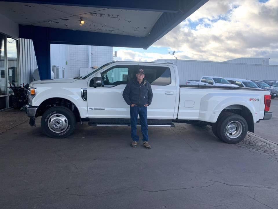 A big thank you to David Seiler Jr. on the purchase of his BRAND NEW 2020 F-350 Lariat. Congratulations and enjoy your new truck.  Internet Sales  Matthew Baisley 530-260-1630  #SusanvilleAutoCenter #FordF350Lariat #SusanvilleCalifornia #LassenCounty #California #FordTruckspic.twitter.com/GVFgU6rGvS