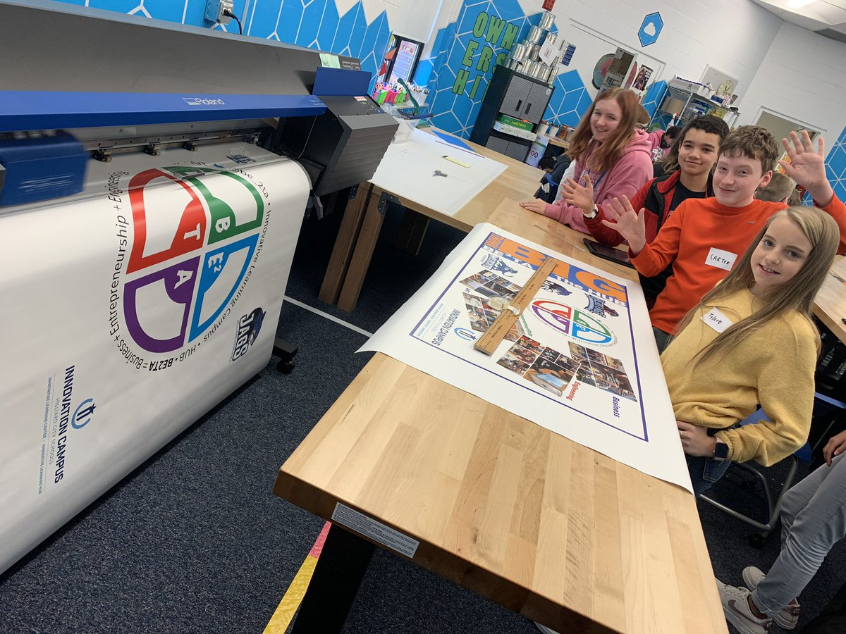 """It was a """"Banner"""" day in BE2TA today!!! See what we did there?!?!"""