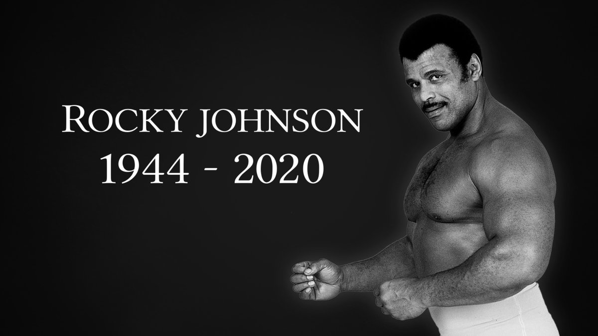 We are saddened to learn wrestling legend Rocky Johnson has passed away. We extend our heartfelt condolences at this difficult time to his friends and family.