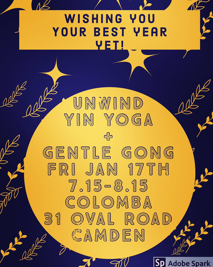 This Friday float unwind body and mind worth #YinYoga and #gongbath @Colombalondon #whatsoninlondonpic.twitter.com/Fq0IERywxZ