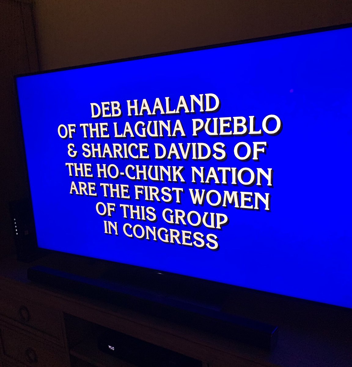 What is....Native and proud 💪🏾👊🏾 Thanks for the shout out, @Jeopardy!