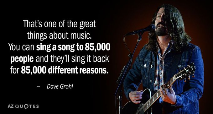 Happy 51st Birthday to Dave Grohl, who was born January 14, 1969 in Warren, Ohio.