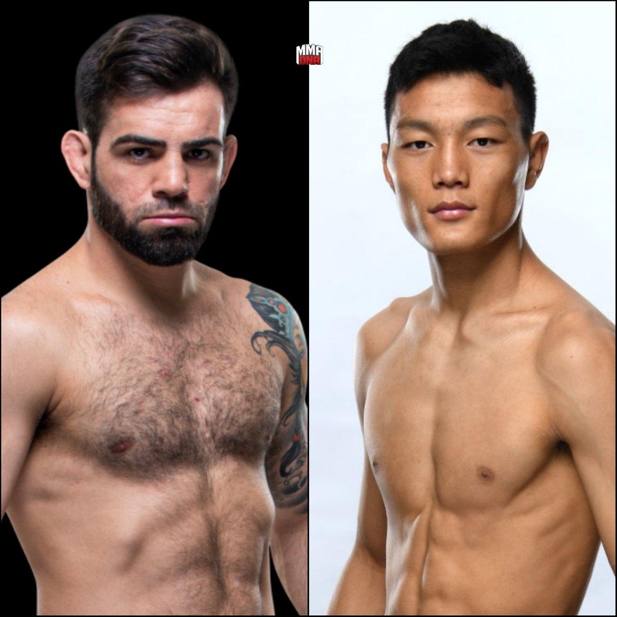 Bruno Silva will fight Su Mudaerji at UFN 170 in Brasilia, Brazil. (Mar. 14, 2020). (per @guicruzzz) #UFC #UFCBrasilia #MMA #UFCESPN