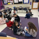 Image for the Tweet beginning: Encouraging collaboration during reading in