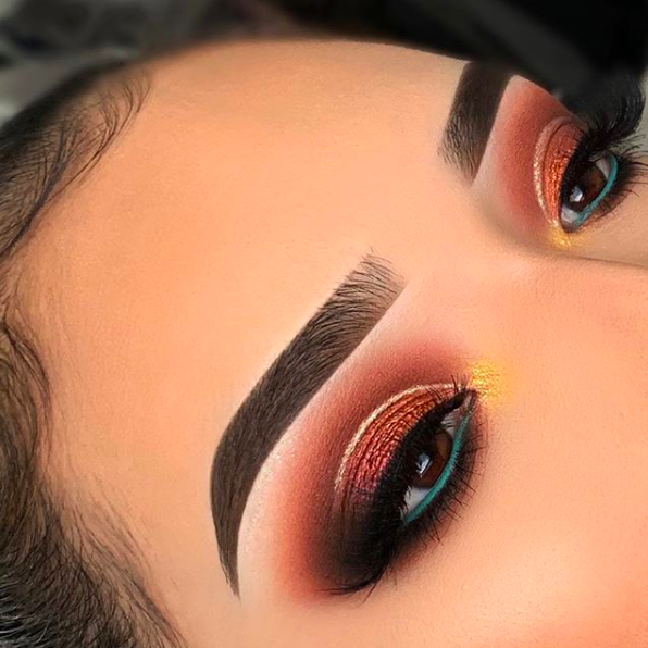 Absolutely LOVE the detail and creativity of this look by @lupita_lemus  makeup goals forreal #makeupdiva #mua #makeuplook #mod #flawlessmakeup #beauty #makeupguru #makeupartist #makeupgoals #goals #eyebrowgoalspic.twitter.com/HzsmGkt7v2