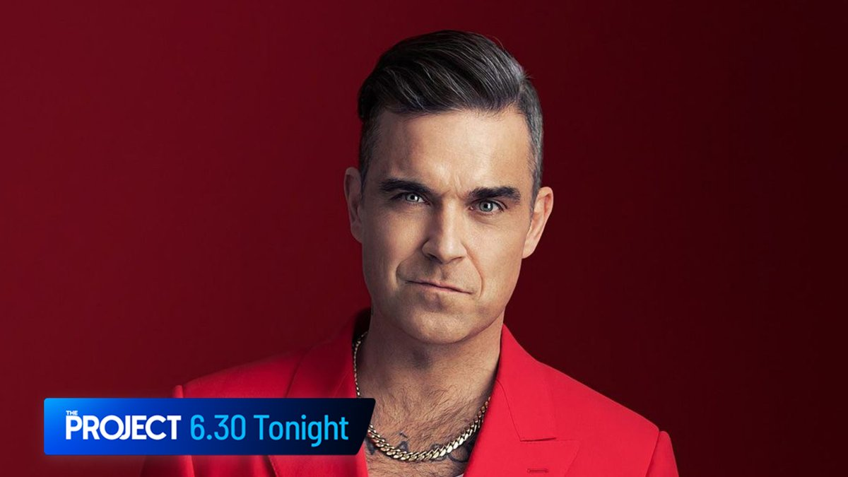 Tonight: @Lisa_Wilkinson sits down with @robbiewilliams for #TheProjectTV