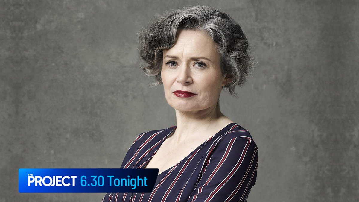 We can't wait to catch up with Judith Lucy this evening when she stops by #TheProjectTV desk!