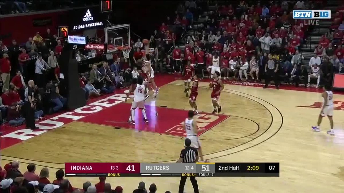 And the most ferocious dunk of the year belongs to ... Rutgers?