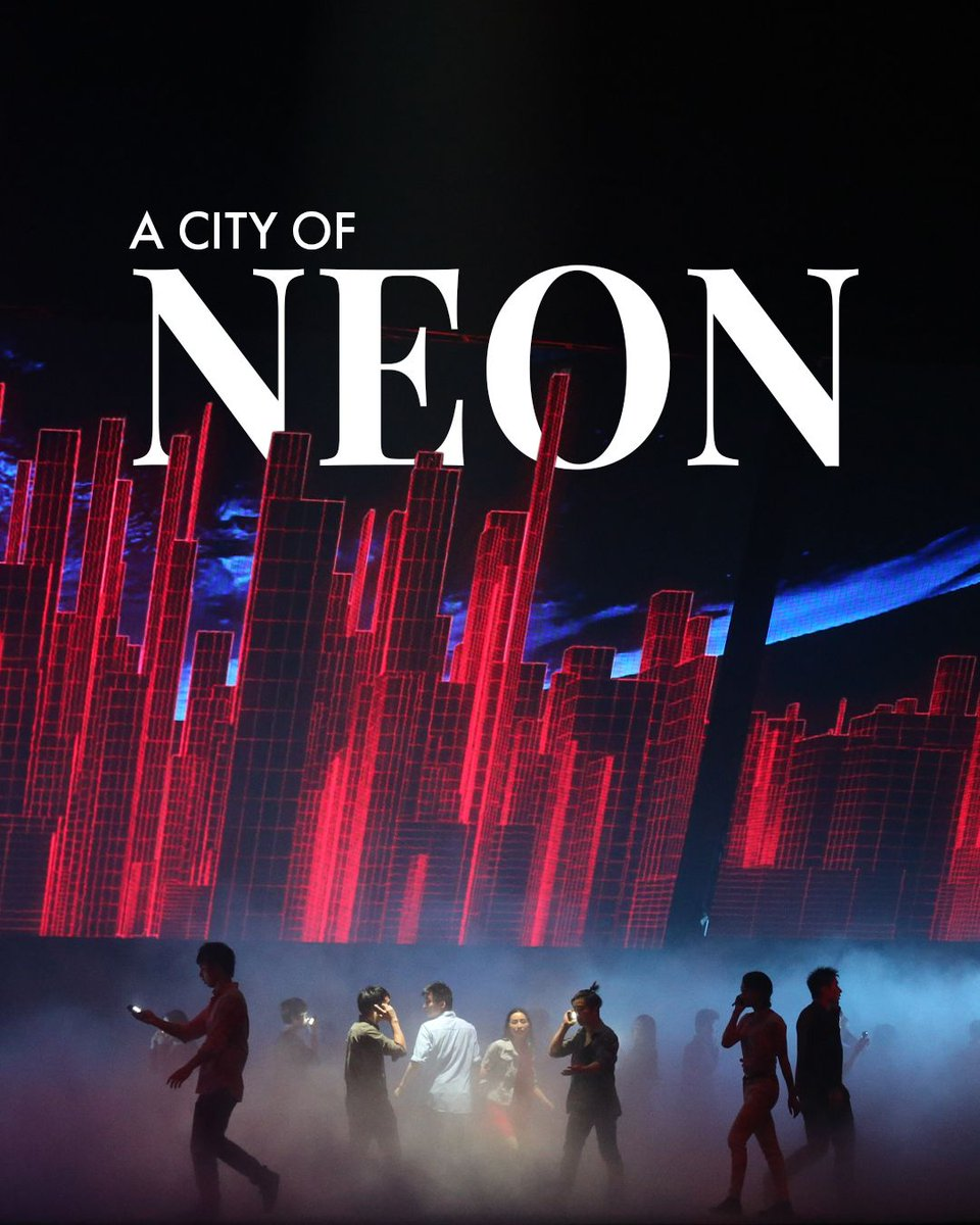 Is your 2020 off to the right start? Maybe it needs a bit of NEON to brighten it up!🚨  http://dragone.com/en/shows/the-han-show…