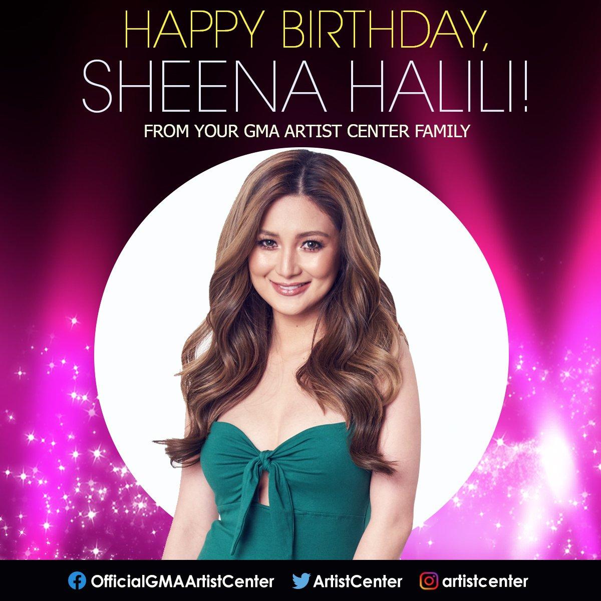 Happy Birthday, #SheenaHalili (@mysheenahalili)! We hope all your birthday wishes come true! ❤️🎁🎂 https://t.co/5QQjlzAtHD