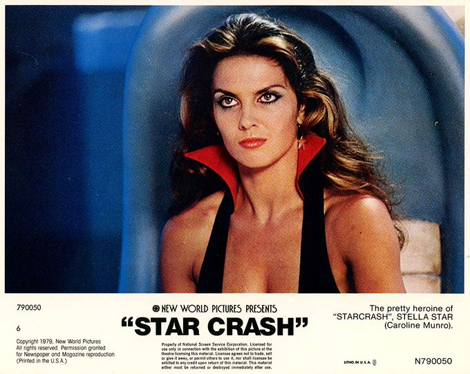 Happy Thursday to all the members of the Gang!  Today is Caroline Munro\s birthday!