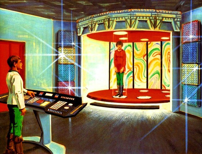 STAR TREK concept art by Mike Minor for the unproduced 1977 Phase II TV series.