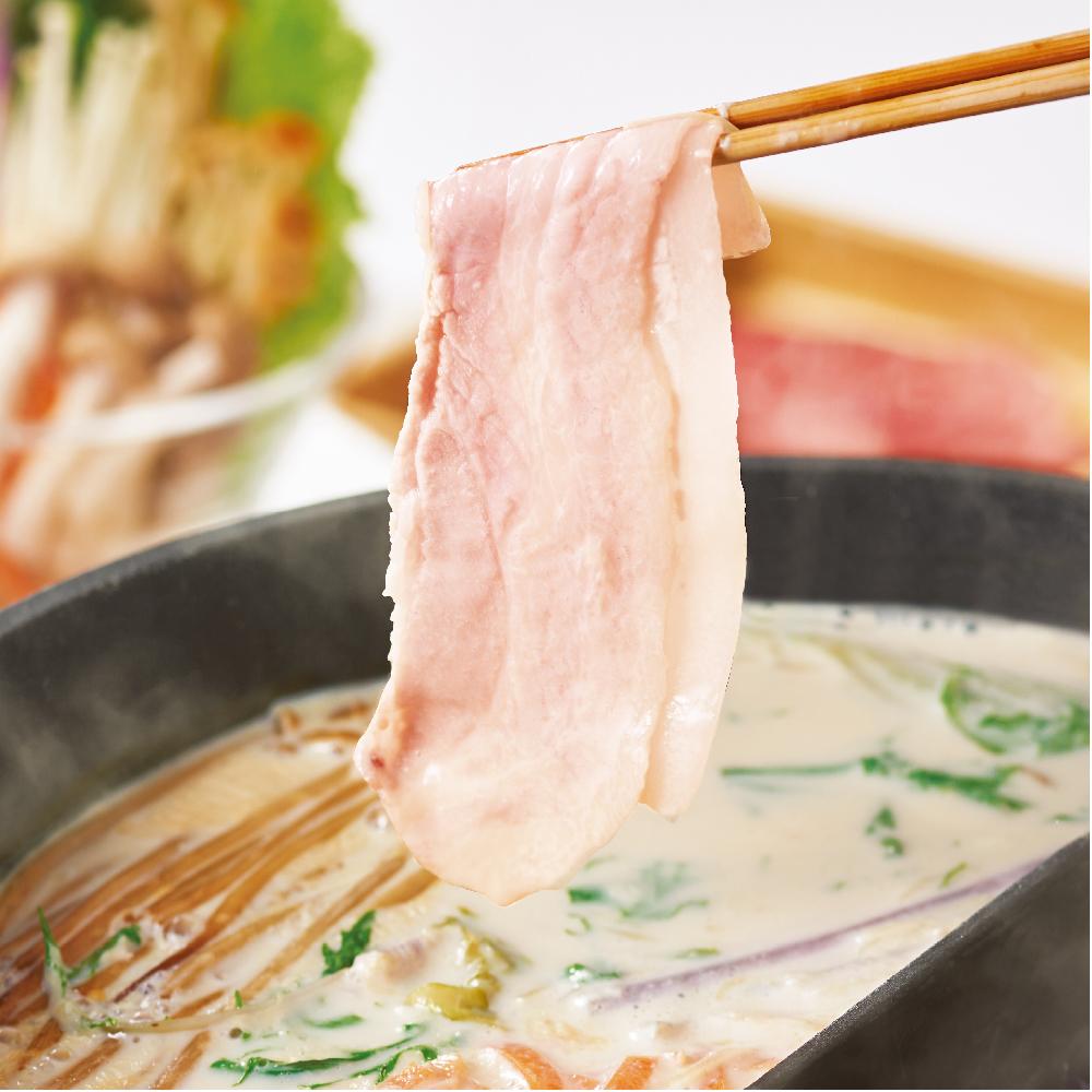 """大寒に負けない""""温活鍋"""" 風味豊かな黄金生姜を使った「生姜豆乳だし」でしゃぶしゃぶ"""