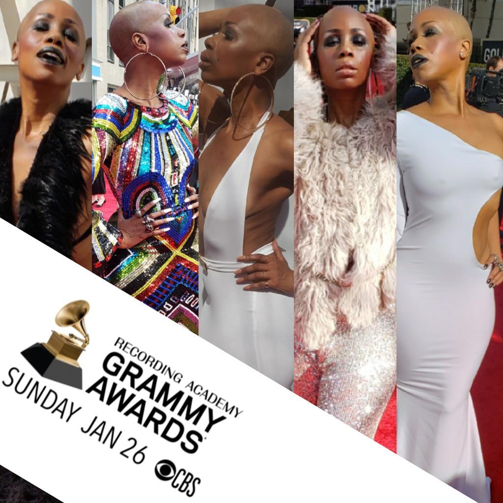 Grammy bound! #tanishalavernegrant #entertainmentcorrespondent #redcarpethost #redcarpet #televisionpersonality #mediapersonality #baldbeauty #baldqueen #baldisbeautiful #grammys #grammys2020pic.twitter.com/MTkOqHSP5b