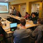 14 Friluftsråd fra hele landet er samlet på FLs fagsamling om tiltak mot marin forsøpling, på Bykuben i Oslo. Veldig nyttig med erfaringsutveksling og planleggingen av arbeidet videre.