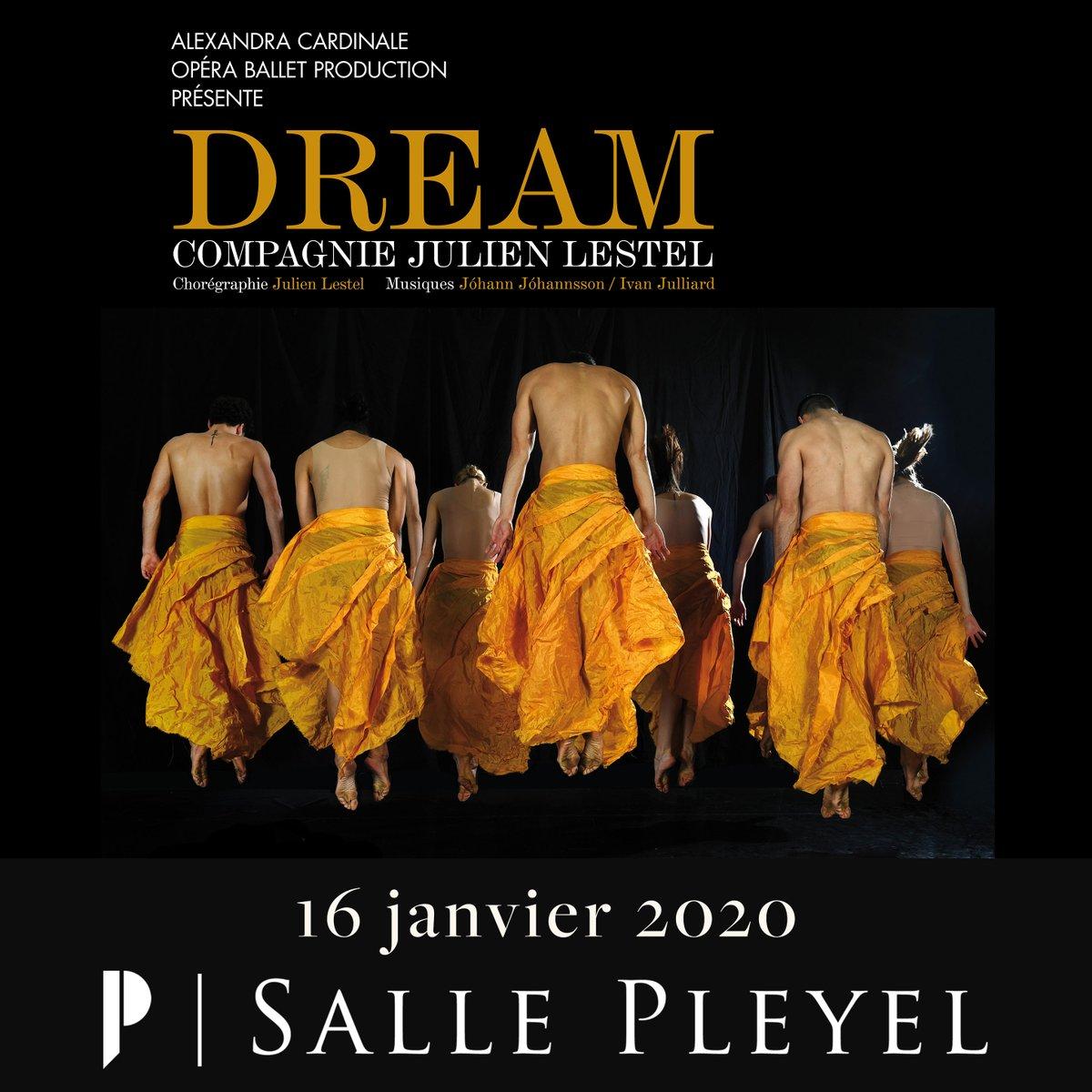⏰ / AU PROGRAMME CE SOIR / ⏰ DREAM - @sallepleyel   - 19H00 >> Ouverture des portes - 20H00 >> Dream   Billetterie : https://t.co/HVFCVOYOst  Présenté par : Alexandra Cardinale Opéra Balle