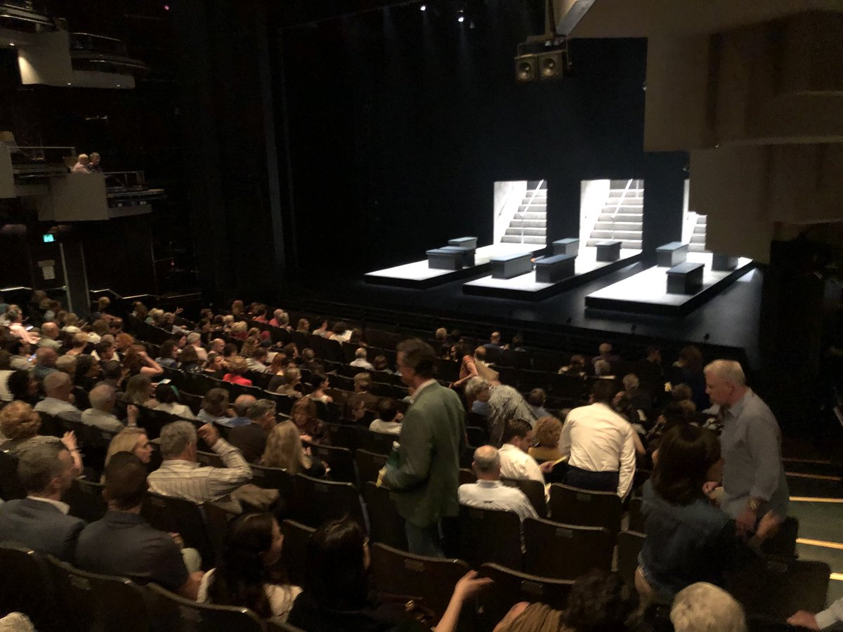 Opening night of #Anthem. Ros Packer Theatre. ⁦@sydney_festival⁩ #sydfestpic.twitter.com/pUHOYICYg3