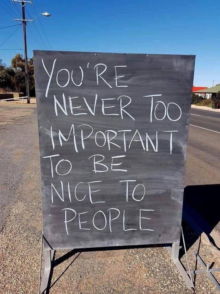 You Are Never Too Important To Be Nice/Kind To People.  #StoryTelling #ThursdayMotivation <br>http://pic.twitter.com/chHoFu8Hpa