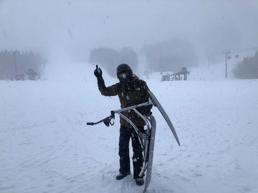 ベストは明日やな😭って言ってもね、、、 ー アメブロを更新しました#脇阪寿一#夏油高原スキー場