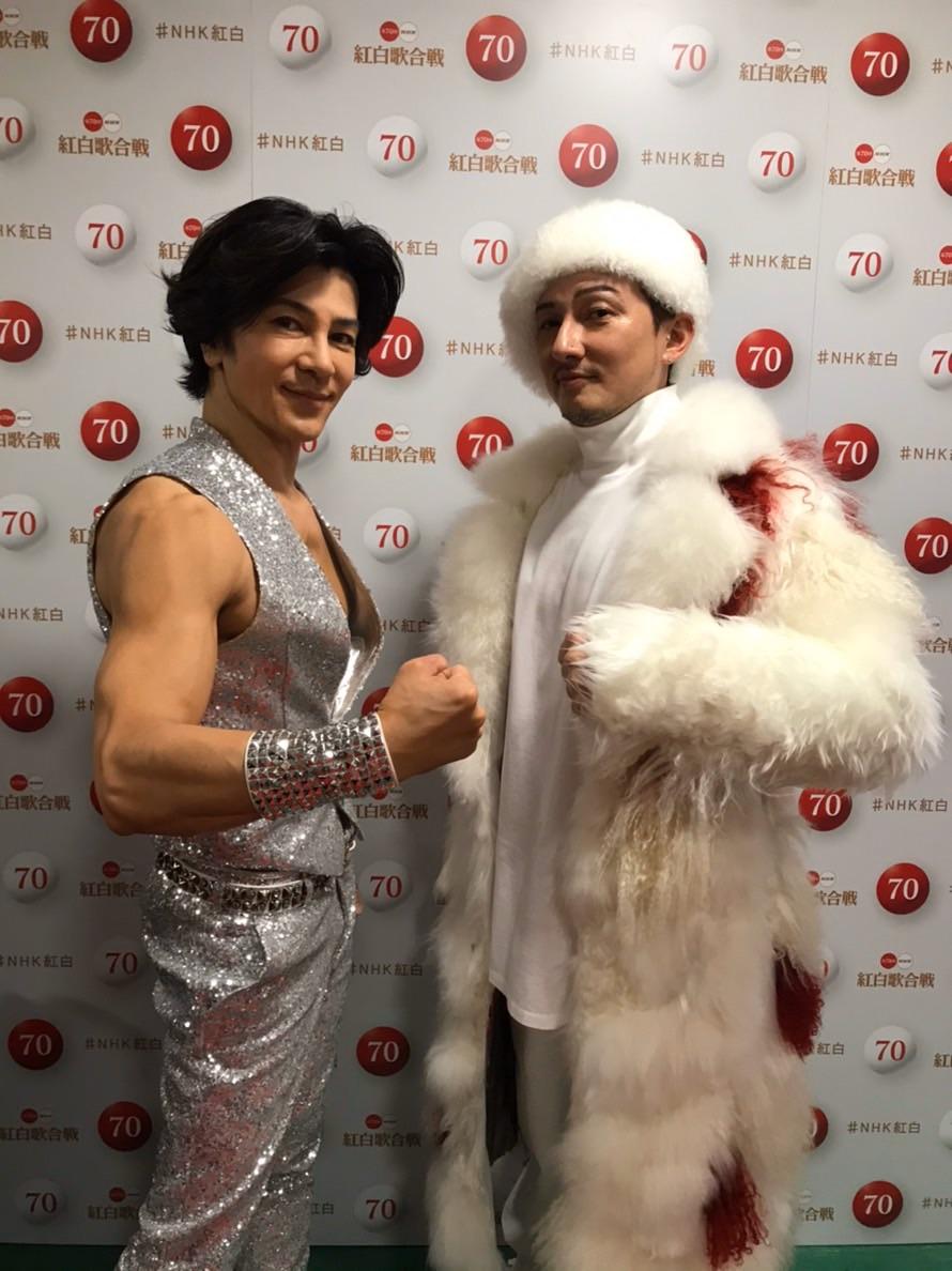 第70回NHK紅白歌合戦の想い出! ー アメブロを更新しました#ISSA#武田真治