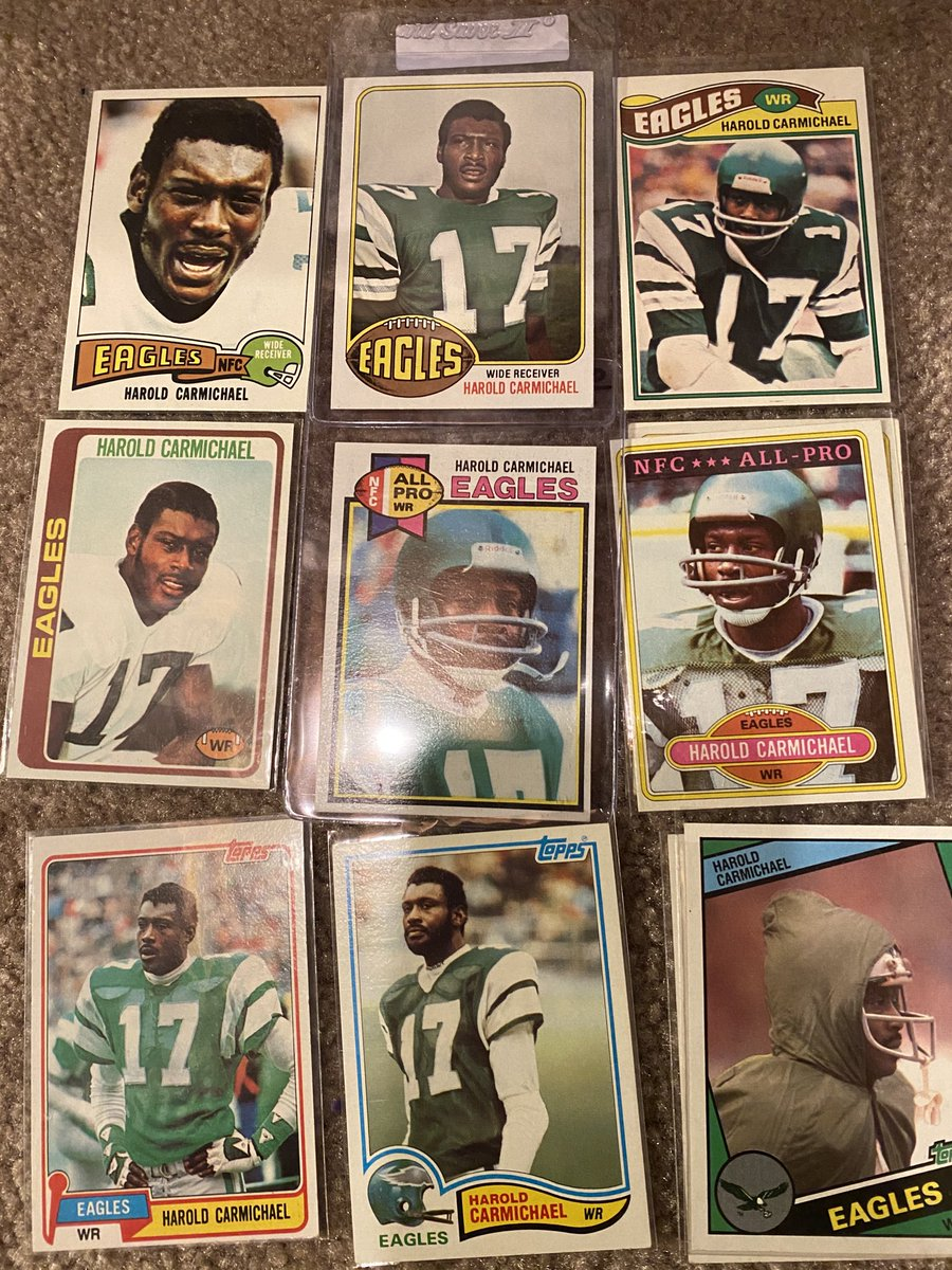 Harold Carmichael collection