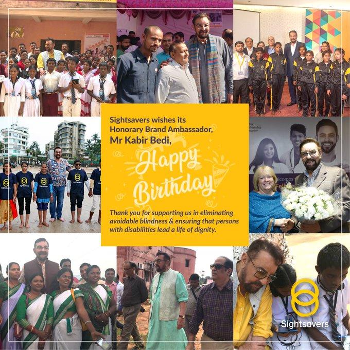 We wish our Brand Ambassador, Mr Kabir Bedi, a Very Happy Birthday!