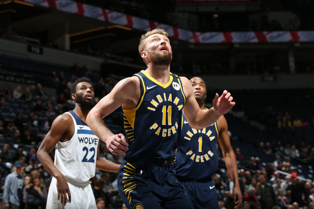 Domantas Sabonis tallied 13 field goals, 13 rebounds, and six assists tonight at Minnesota. Sabonis is the second Pacer over the last 30 seasons with at least 13 FG, 13 REB, and 5 AST in a game. Jermaine O'Neal accomplished this in April 2001 and February 2007. @EliasSports