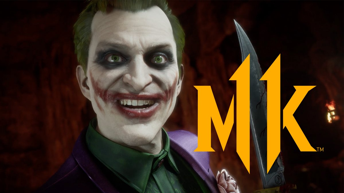 Joker game-play, right here! #MortalKombat11