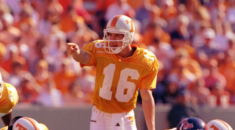 #ThingsIveLearnedAbout Peyton Manning *He was the greatest of all time, how does the GOAT not win the Heisman? He transferred NFL allegiances of many Tennesseans & beat Bama 3 times! #16 is immortalized at Tennessee including with a street name & he chose us for his senior year!