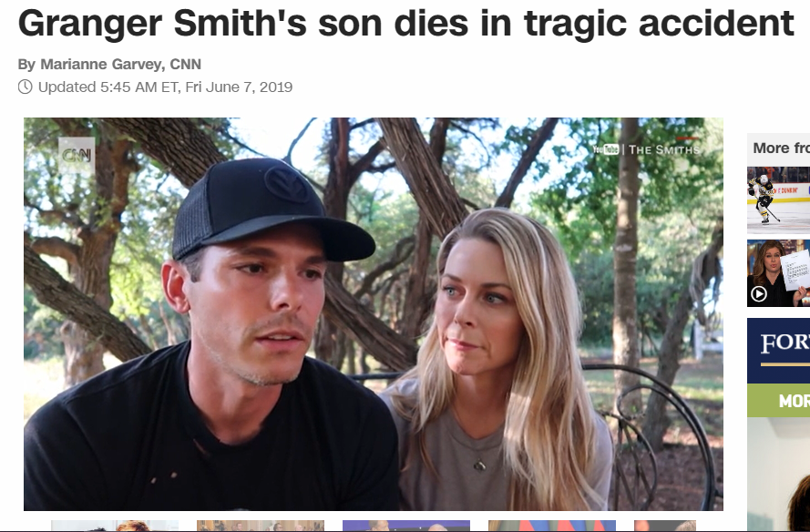 'Our son that we named River just drowned, so let's do as many interviews as possible showing no emotion.'