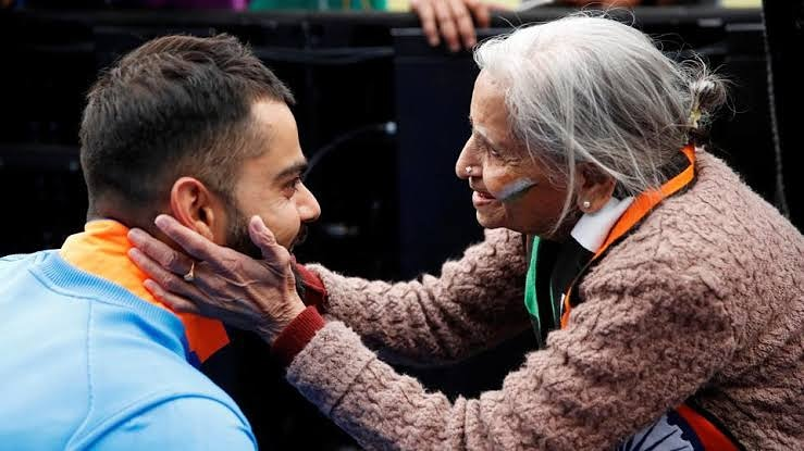 #TeamIndia's Superfan Charulata Patel ji will always remain in our hearts and her passion for the game will keep motivating us.  May her soul rest in peace <br>http://pic.twitter.com/WUTQPWCpJR