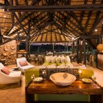 Image for the Tweet beginning: Our guest lounge at Ongava
