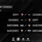 Image for the Tweet beginning: Here's the schedule for SEA