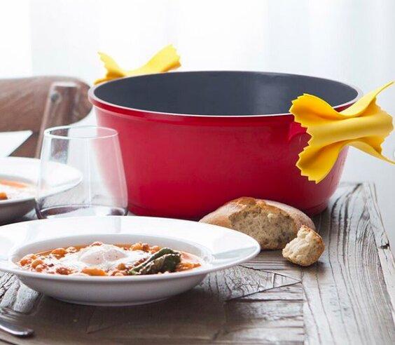 Вам захочется побывать в Италии, как только эти аксессуары попадут на вашу кухню, ведь это аппетитно и красиво!  Набор для кухни Pasta Grande   #follow4like #razverni #amazing #магазинподарков #подарок #необычныйподарок #лучшийподарок #разверни