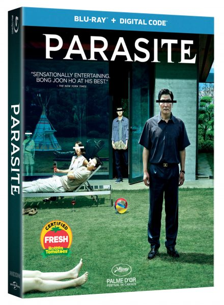Universal announces Parasite on Blu-ray and DVD. @UniversalPics   #Parasite #Universal #KanghoSong #SunkyunLee #YeojungJo #WoosikJoi #BongJoonHo  https://www.hollywoodmatrimony.com/parasite-announce…pic.twitter.com/zLucGhszJS