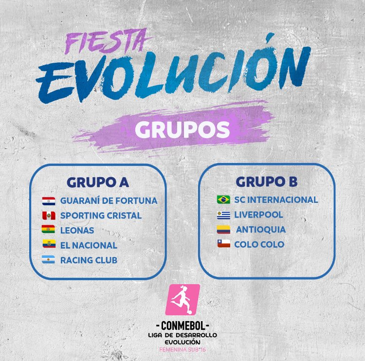 VAMOS!!!#SportingCristal #FútbolFemenino #sub16 #LigaDeDesarrollo  #EvoluciónEsConmebol #FiestaSudamericanaDeLaJuventud #FuerzaCristalpic.twitter.com/WQKd42cDRW