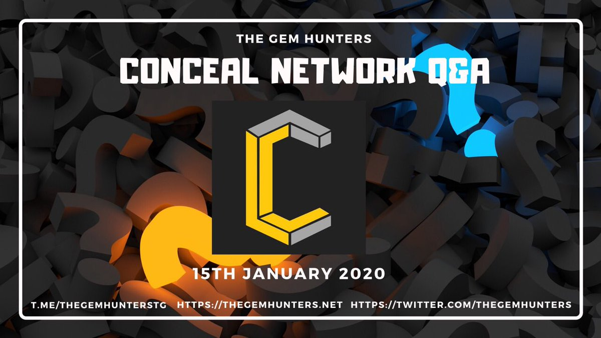 You can read the Q&A here. We would like to thank @TheGemHunters for the opportunity.