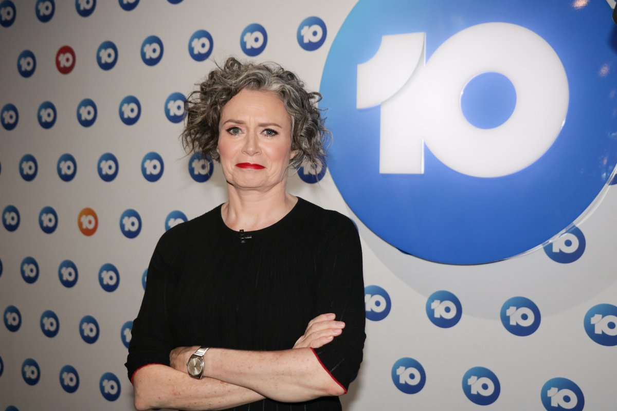 Thanks to Judith Lucy for stopping by #TheProjectTV