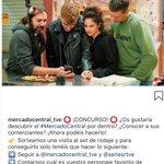 📣 ¡ATENCIÓN! ¡En la cuenta de #instagram de @MCentraltve se cuece un CONCURSAZO! 🚀 ¿Quieres visitar nuestros platós?   ¡Sigue la cuenta de #MercadoCentral y participa! 📲