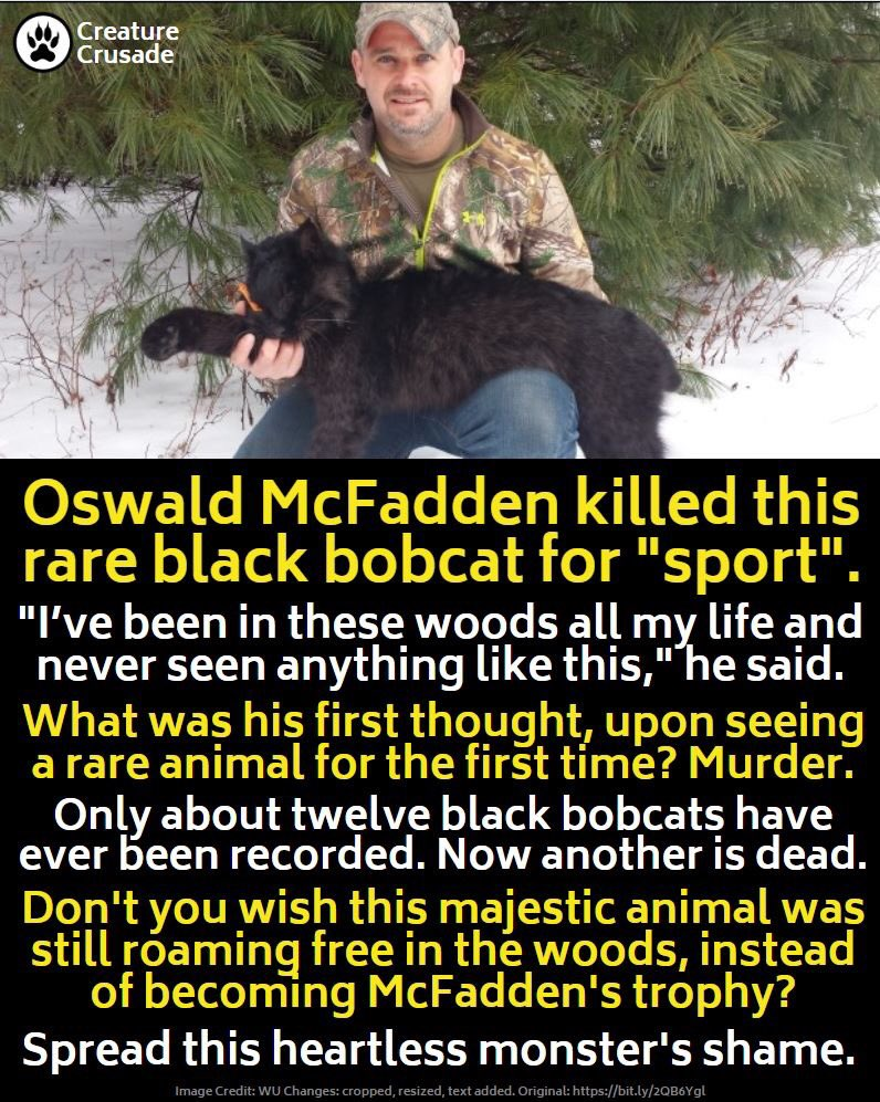 This is so wrong :( Pls sign/share UK ban petition: change.org/p/boris-johnso… #BanTrophyHunting (credit: Creature Crusade)
